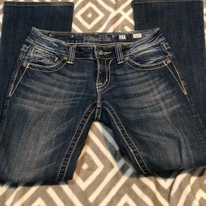 Miss me Bootcut Jeans size 27/31
